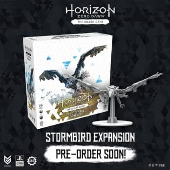 """Steamforged Games' Stormbird Looms Just Over The """"Horizon"""""""
