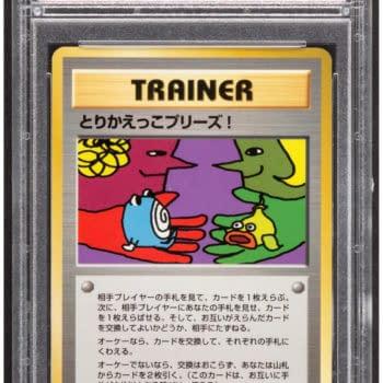 "Pokémon TCG ""Trading Please!"" Promo Card On Auction At Heritage"