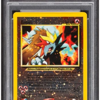 Pokémon TCG Black Star Promo Entei Card Up For Auction At Heritage