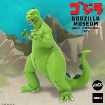 Mondo Kicks Off Their Godzilla Museum Series with Animated Godzilla