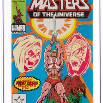 First He-Man & Masters Of The Universe Comic CGC 9.8 UP For Auction