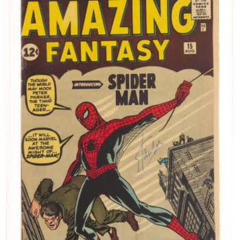 A Signed Stan Lee Amazing Fantasy #15