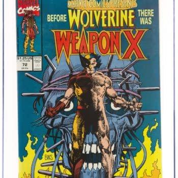 Marvel Comics Presents #72 (Marvel, 1991) CGC NM/MT 9.8