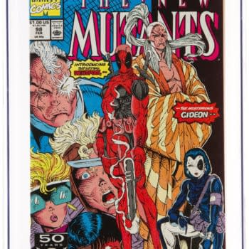 Rob Liefeld's 1st Deadpool & Domino, New Mutants #98 Under The Hammer