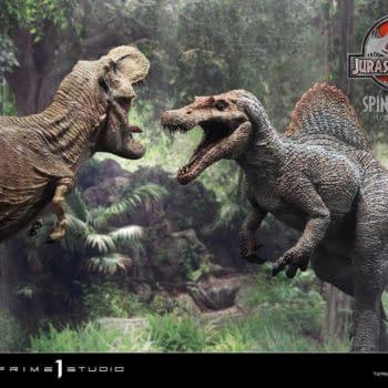 Jurassic Park III Spinosaurus Walks The Earth With Prime 1 Studio