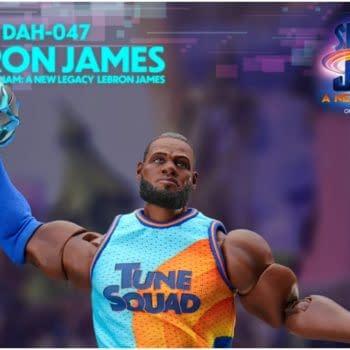 Space Jam A New Legacy LeBron James Figure Comes To Beast Kingdom