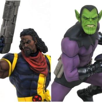 New Diamond Marvel Gallery Skrull and Bishop Statues Coming