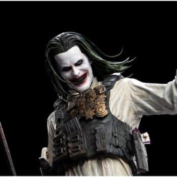 Zack Snyder's Justice League Knightmare Joker Hits Weta Workshop