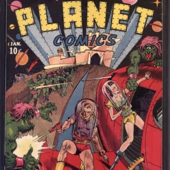 Nicolas Cage's CGC 9.4 Copy Of Planet Comics #1 From 1940 At Auction