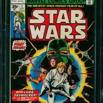 35 Cent Marvel Star Wars #1 CGC 9.4 Up For Auction Today