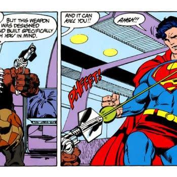 Superman #4 (DC, 1987), intro of Bloodsport.