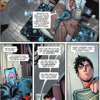 Superman Playing In Politics - It Has Consequences, Today (Spoilers)
