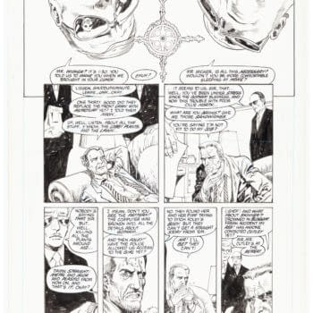 Alan Moore & Rick Veitch Swamp Thing Original Art Up For Auction