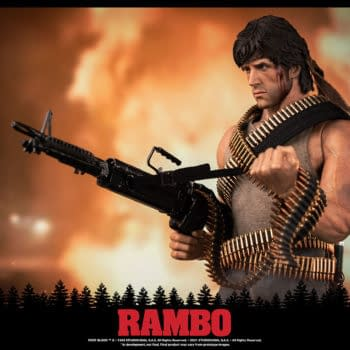 Rambo Gets First Blood with New 1/6th Scale Figure from threezero