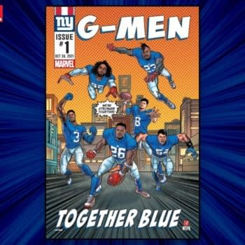Marvel Teams with NY Giants to Prove Superheroes Can Be Losers Too