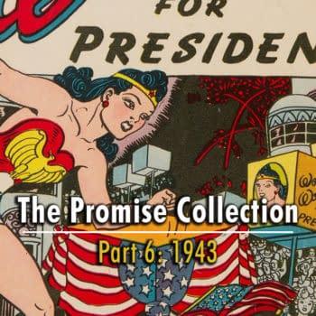 Wonder Woman #7, DC Comics 1943.