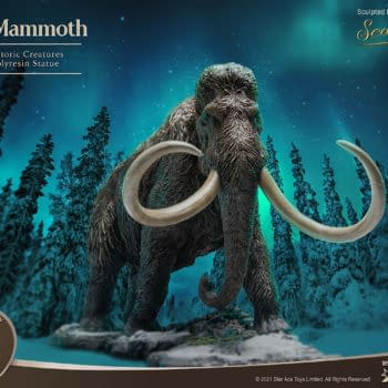 Star Ace Teams Up With X-Plus for Wonder Wild Woolly Mammoth