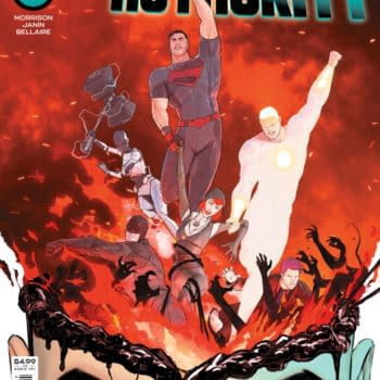 Cover image for SUPERMAN AND THE AUTHORITY #3 (OF 4) CVR A MIKEL JANIN