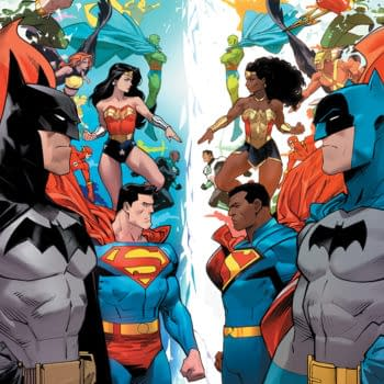 Cover image for JUSTICE LEAGUE INFINITY #3 (OF 7)