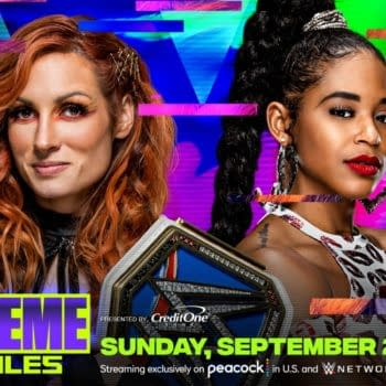 Becky Lynch defends the Smackdown Championship against Bianca Belair at WWE Extreme Rules in a match everyone is hoping lasts longer than two seconds.