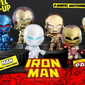 Iron Man The Origins Collection Cosbaby Figure Come to Hot Toys