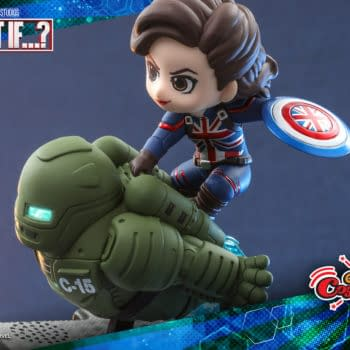 What If...? Captain Carter Gets Adorable CosRider Figure from Hot Toys