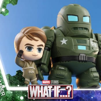 Marvel What If…? Hydra Stomper Cosbaby Landing at Hot Toys