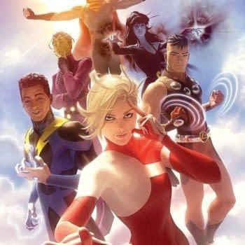 Brian Bendis Teases More Legion Of Superheroes With Alex Garner