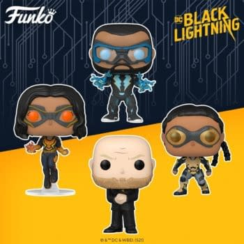 Black Lightning Brings the Thunder With New Funko Pop Vinyls