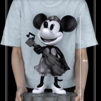 Black & White Minnie Mouse Gets New Disney Beast Kingdom Statue