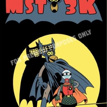 Mystery Science Theater 3000 Homages Comic Covers For NYCC Posters