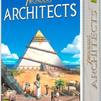 Asmodee Announces New Game 7 Wonders: Architects