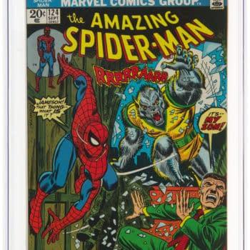 Amazing Spider-Man #121 CGC 9.8 Taking Bids At Heritage Auctions