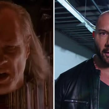 Dave Bautista has no love or Vigo the Carpathian, the villain of Ghostbusters II who made New Yorkers angry using mood-affecting pink slime.