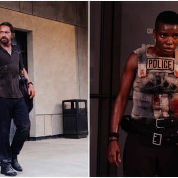 Copshop Stars Gerard Butler and Alexis Louder Talk Joe Carnahan Film