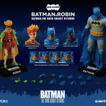 Beast Kingdom Announces The Dark Knight Returns DAH Figure Set
