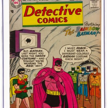 Batman 'Rainbow Batman' Detective Comics Issue At Heritage Auctions
