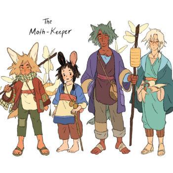 Tea Dragon's Kay O'Neill Auctions The Moth-KeeperOGN To Random House