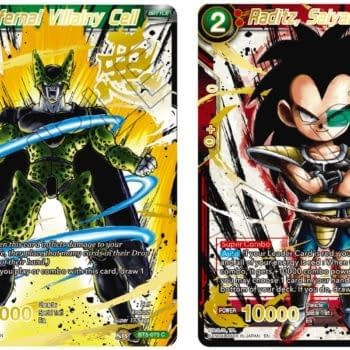 Dragon Ball Super 2021 Anniversary Reprint Reveal: Cell & Raditz