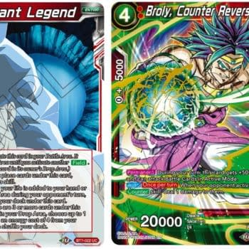 Dragon Ball Super Previews Mythic Booster: Broly, Dormant Legend