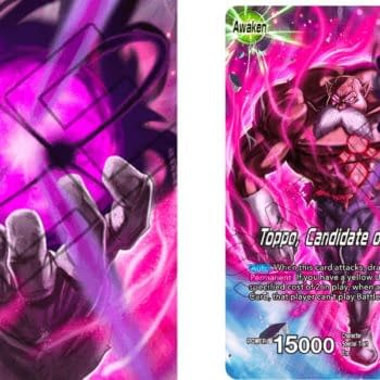 Dragon Ball Super Card Game Previews Mythic Booster: Toppo