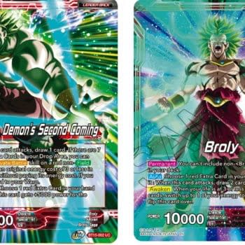 Dragon Ball Super Previews Saiyan Showdown: Broly Leader