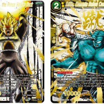 Dragon Ball Super 2021 Anniversary Reprint Reveal: Krillin & Vegeta