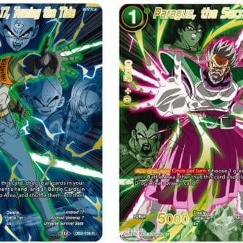 Dragon Ball Super 2021 Anniversary Reprint Reveal: Android 17 & Paragus