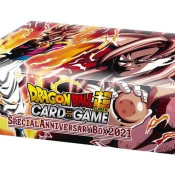 Dragon Ball Super Card Game Releases 2021 Anniversary Box