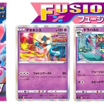 Deoxys & Dragapult Revealed for Japan's Pokémon TCG: Fusion Arts