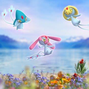 The Lake Trio Will Be Shiny in Pokémon GO Starting Tomorrow