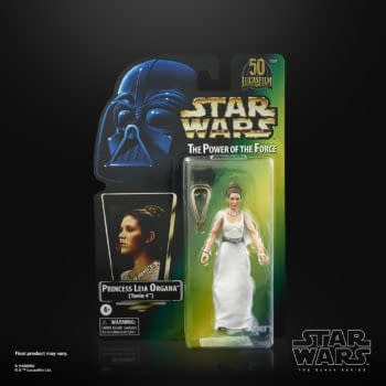 Star Wars Princess Leia Power of the Force Figure Revealed by Hasbro