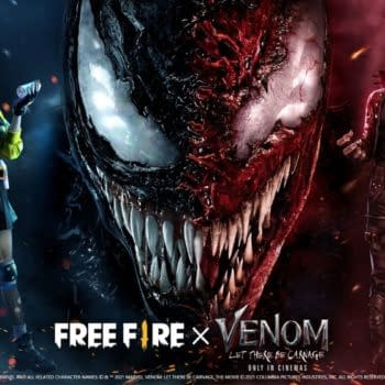 Free Fire Reveals Venom: Let There Be Carnage Crossover Event