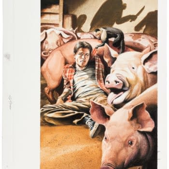 Y: The Last Man Cover by J. G. Jones Hits Auction